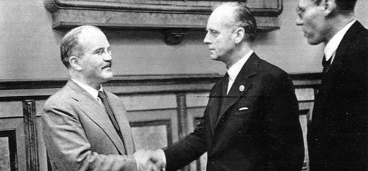 Пакт о ненападении между СССР и Германией 1939 года