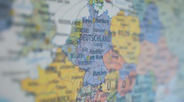 С какими странами граничит Германия
