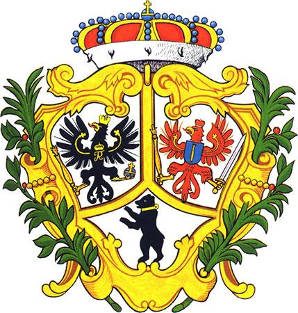 герб берлин 1709 год