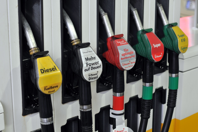 Автозаправки в Германии топливо
