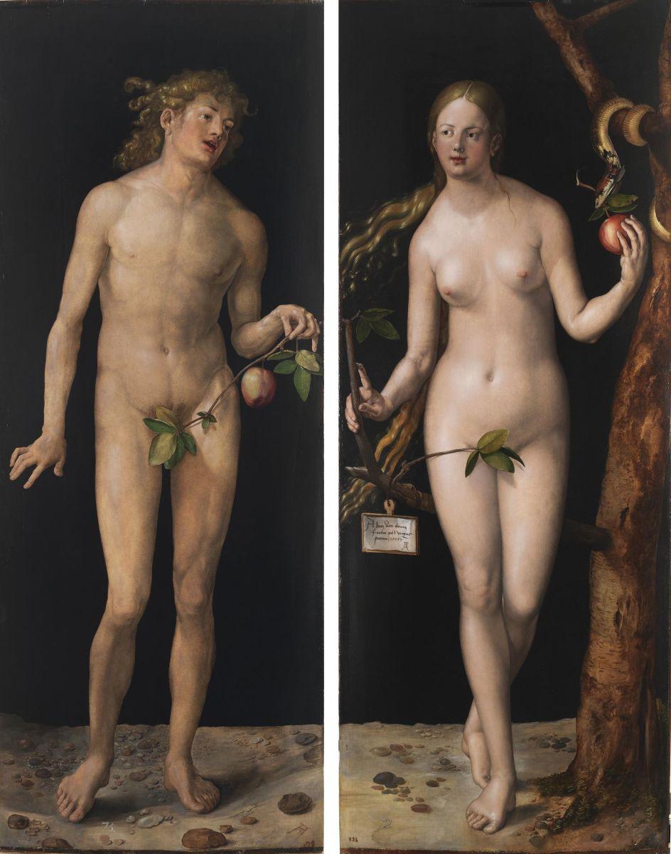 1507 Адам и Ева