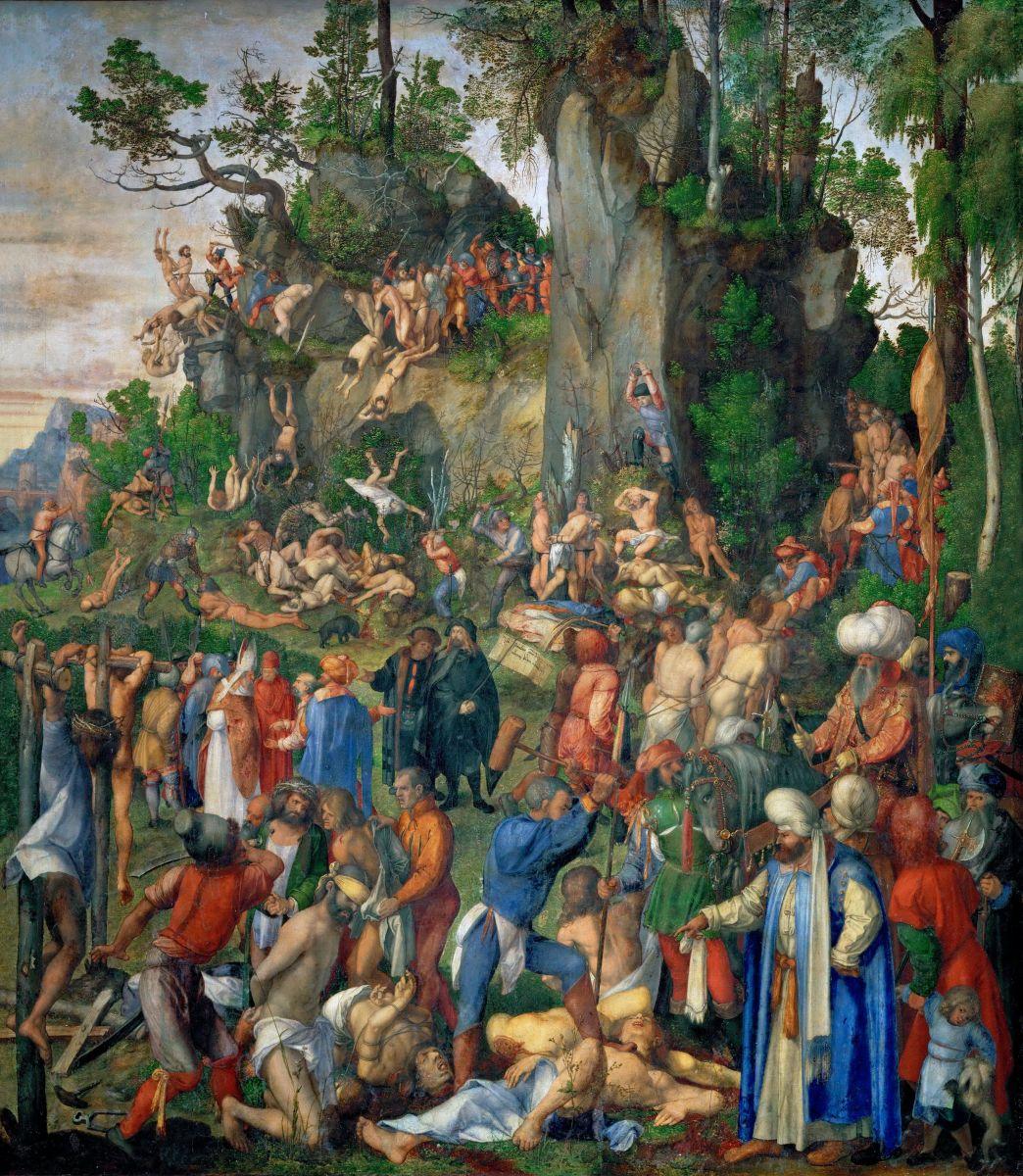 1508 Мученичество десяти тысяч христиан