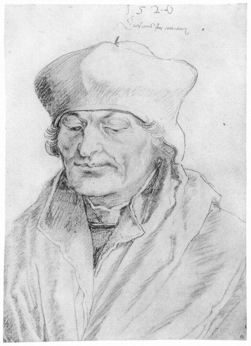 1520 Портрет Эразма Роттердамского