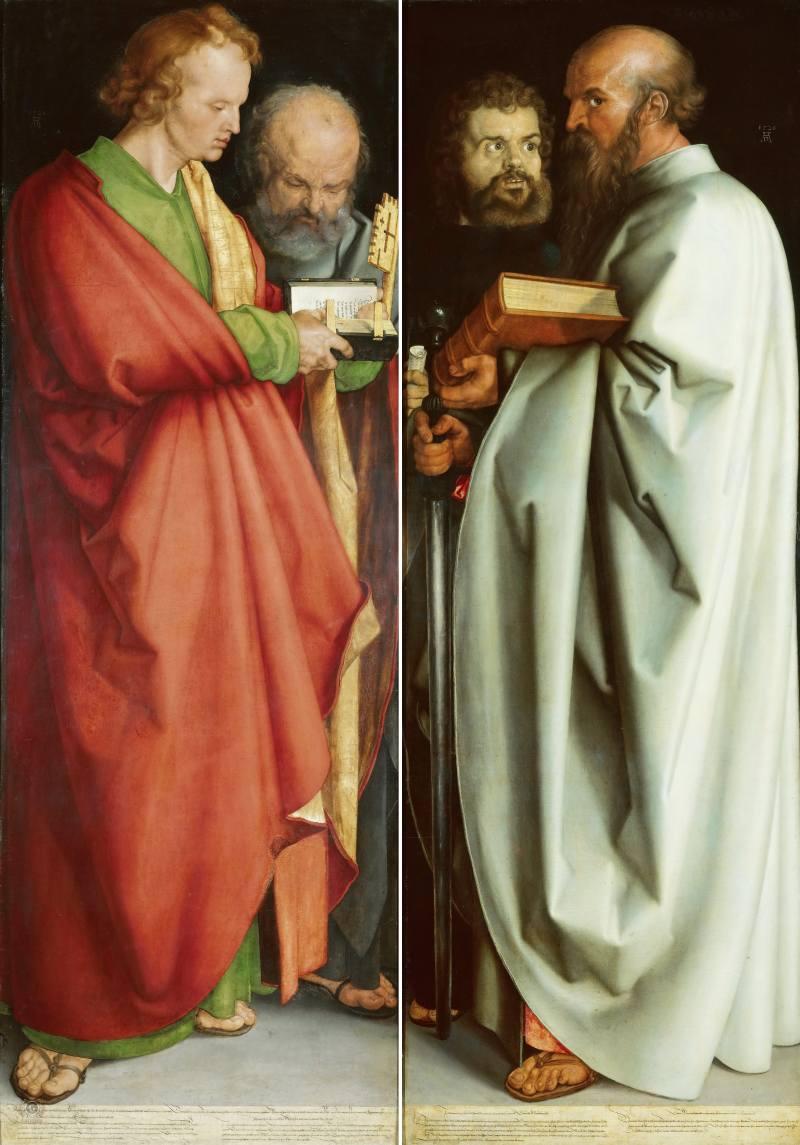 1526 Четыре апостола