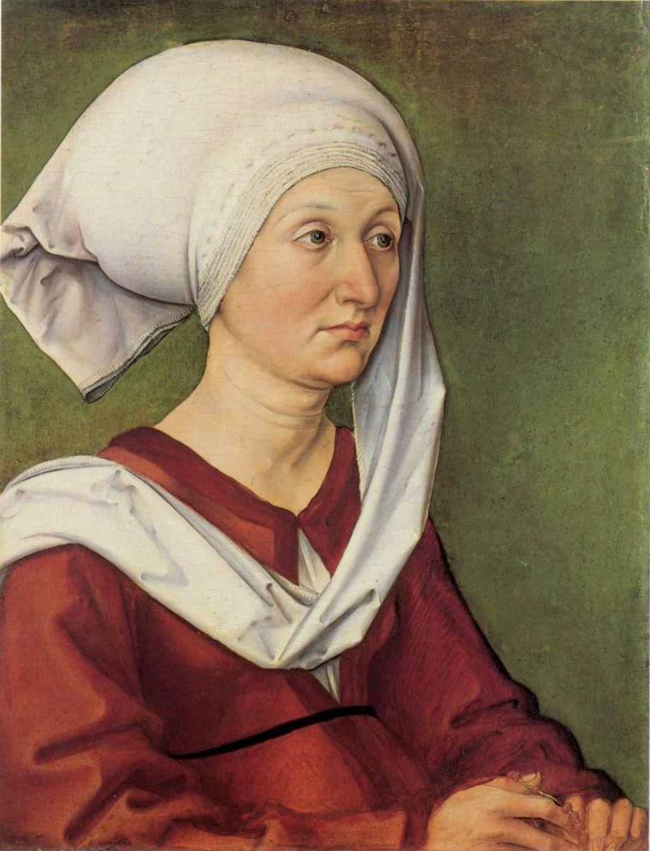 1490 Портрет Барбары Дюрер