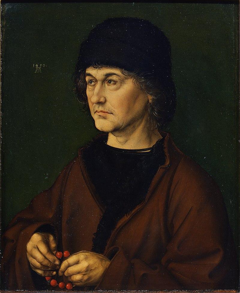 1490 Портрет Альбрехта Дюрера старшего