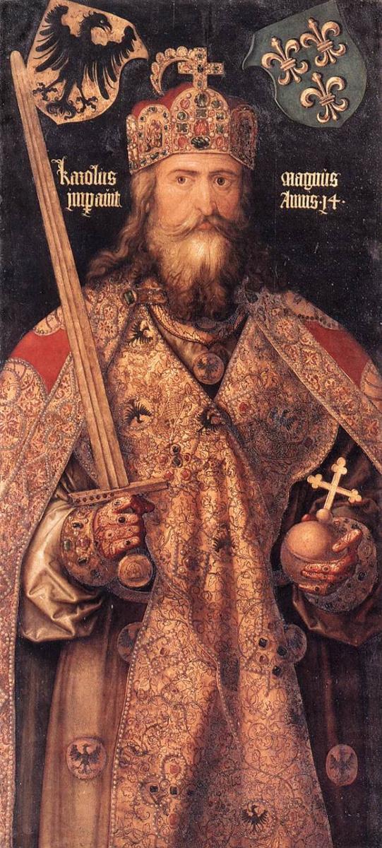 1512 Император Карл Великий I