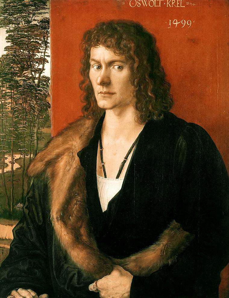 1499 Портрет Освальта Крелля