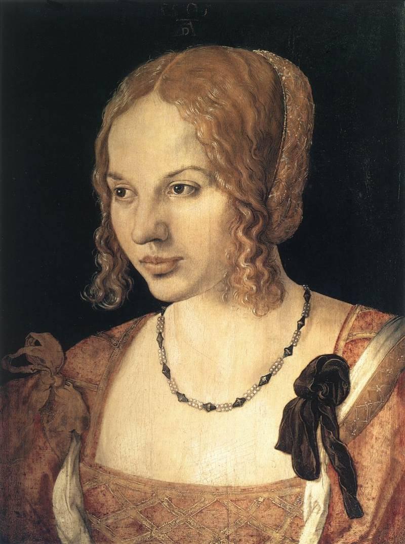 1505 Портрет молодой венецианки