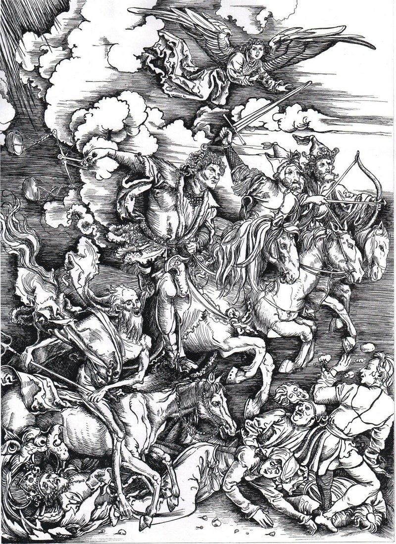 1498 Четыре всадника Апокалипсиса