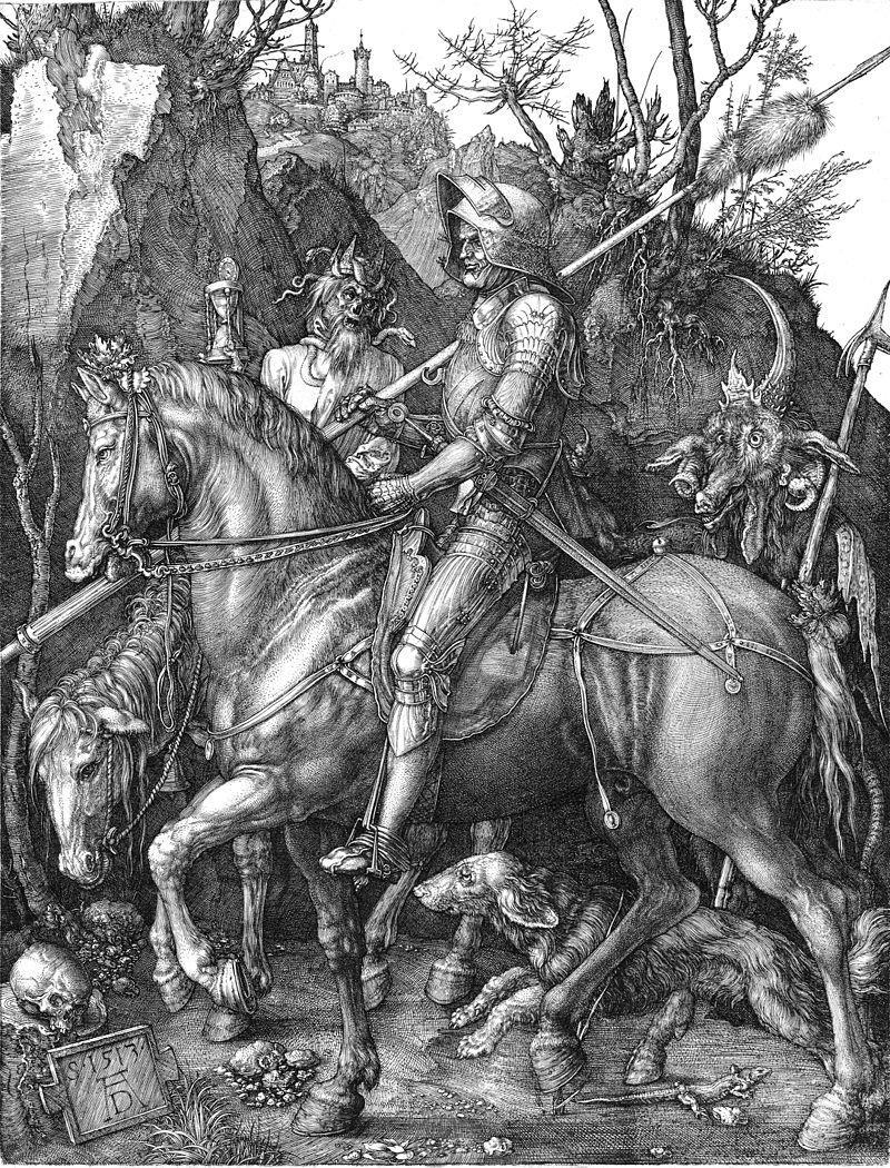 1513 Рыцарь, смерть и дьявол