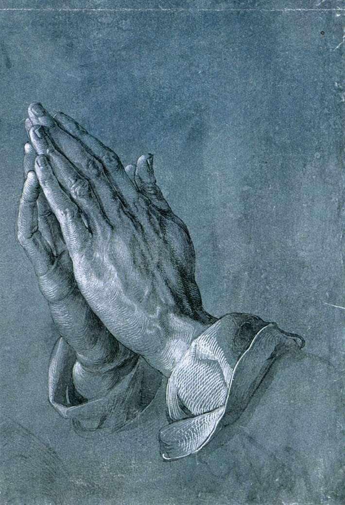 1508 Руки молящегося