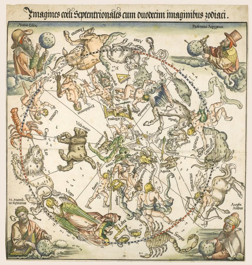 1515 Карта Северного неба
