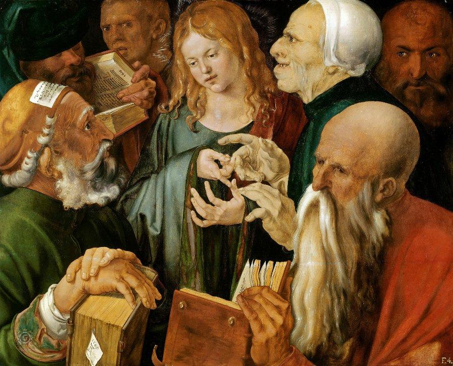 1506 Христос среди книжников