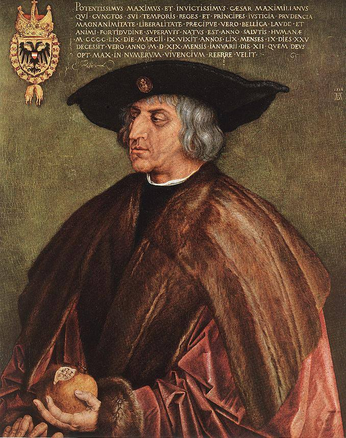 1519 Император Максимилиан I