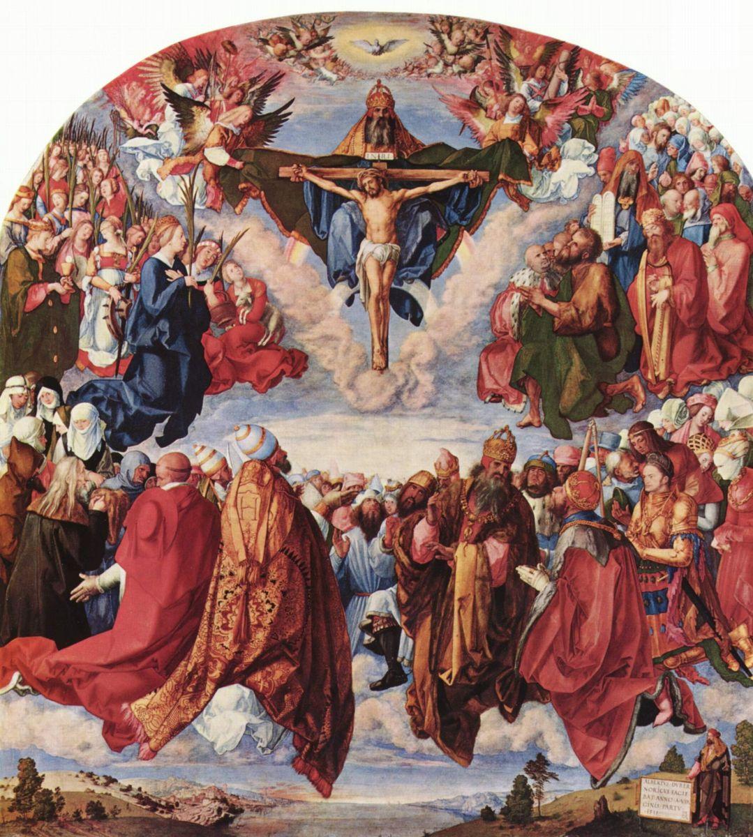 1511 Поклонение Святой Троице
