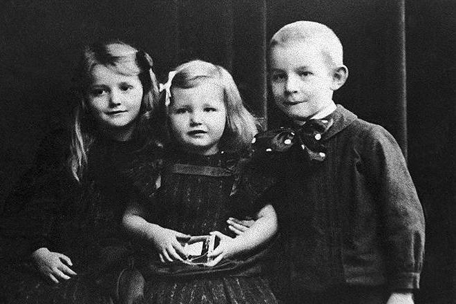 Эрих Мария Ремарк в детстве
