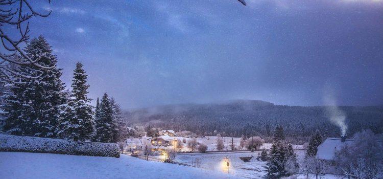 Погода в Германии в январе